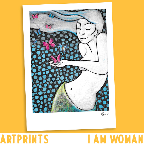 Artprints I am Woman